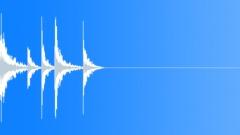 Military snapshot - gun and drum Sound Effect