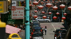 Chinatown in San Francisco Stock Footage