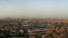 Cairo Skyline sideways movement - stock footage