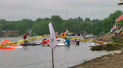 Hydroplane Races  Stock Footage