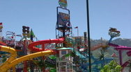 Water Park 2 Stock Footage