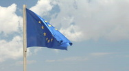 Stock Video Footage of European Union (EU) Flag