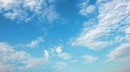 Blue sky Stock Footage
