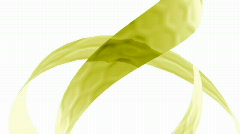 Green ribbons background Stock Footage