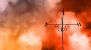 Weather Vane Change HD Loop Stock Footage