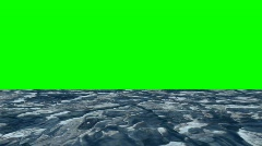 Water Tilt Up To Key Green Stock Footage