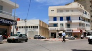 Traffic centre in Sousse, Tunisia Stock Footage