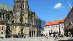 Prague Castle 1 Stock Footage