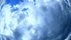 Sky is getting ready to rain. The clouds darken. - stock footage