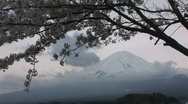Stock Video Footage of Mount Fuji 4 - Japan