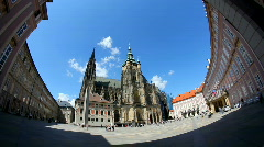 Prague Castle 13 Timelapse Stock Footage