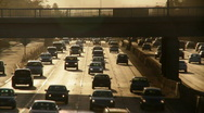 Stock Video Footage of Traffic 02: Rush Hour Real time