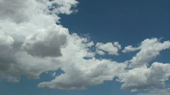 Monsoon Clouds Balloon Time Lapse Stock Footage