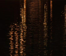 Water light reflecting Stock Footage