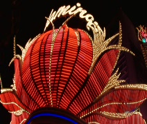 Stock Video Footage of Las Vegas Flamingo Sign