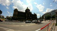 Prague National Museum 29 Stock Footage