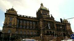 Prague National Museum 30 Stock Footage