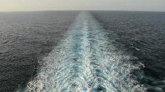Shipwake Stock Footage
