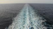 Stock Video Footage of shipwake