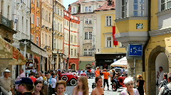 Prague Old Town Square 35 Stock Footage