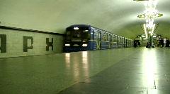 Underground station Stock Footage
