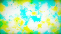 Colorful grunge style background (seamless looping) - stock footage