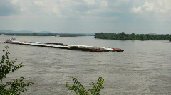 Barge1 - stock footage