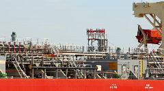 Wilmington Shipyards 1744 Stock Footage