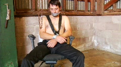 Torture victim Stock Footage