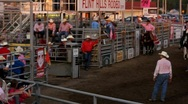 Stock Video Footage of Rodeo - Calf Roping