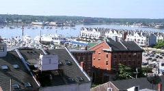 Portland, Maine - stock footage