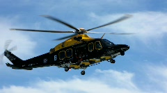 Rescue Helicopter 2 Stock Footage