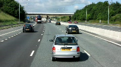 M62 to Manchester Stock Footage