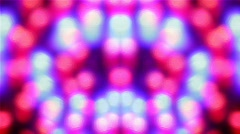 Disco lights.Computer abstraction.Close up. Stock Footage