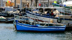 Harbour in Sousse, Tunisia - stock footage