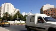 Street in Sousse, Tunisia Stock Footage