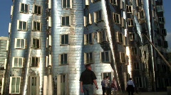 The Never Zollhof building, by Frank Gehry, Germany Stock Footage
