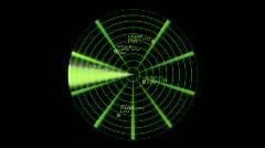 Radar HD 1080 Arkistovideo