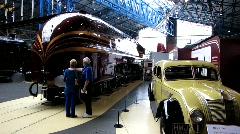 Railway Museum York 4 - stock footage