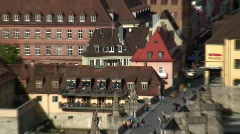 Wurzburg, Germany, on the River Main, Europe Stock Footage