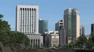 Stock Video Footage of Park Area at the Imperial Palace - Tokyo, Japan