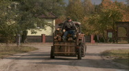 Old tracktor 2 Stock Footage