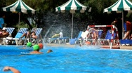 Water polo Stock Footage
