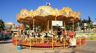 Merry-go-round Stock Footage