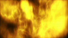 Animation showing fire Stock Footage