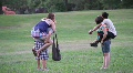 Teen Couples in the Park HD Footage
