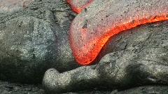 Hawaiian Lava Flow HD 8 Stock Footage