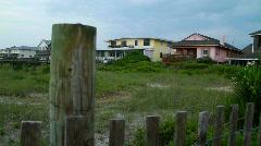 Beach houses 570 Stock Footage