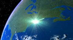 GLOBAL NETWORK-SIG-TEAL Stock Footage