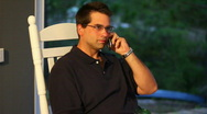 Cellphone Man 1773 Stock Footage